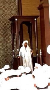 Khutbah Jumu`ah, Masjid Nur Muhammad, Kemang, 2014