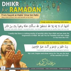 Ramadan Wird