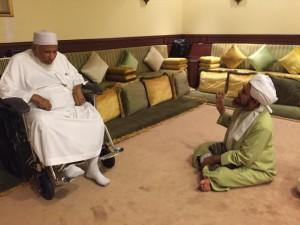 Hb Umar with Hb Salim