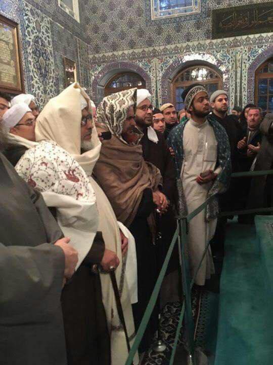 Intentions for Visiting Sayyiduna Abu Ayyub al-Ansari