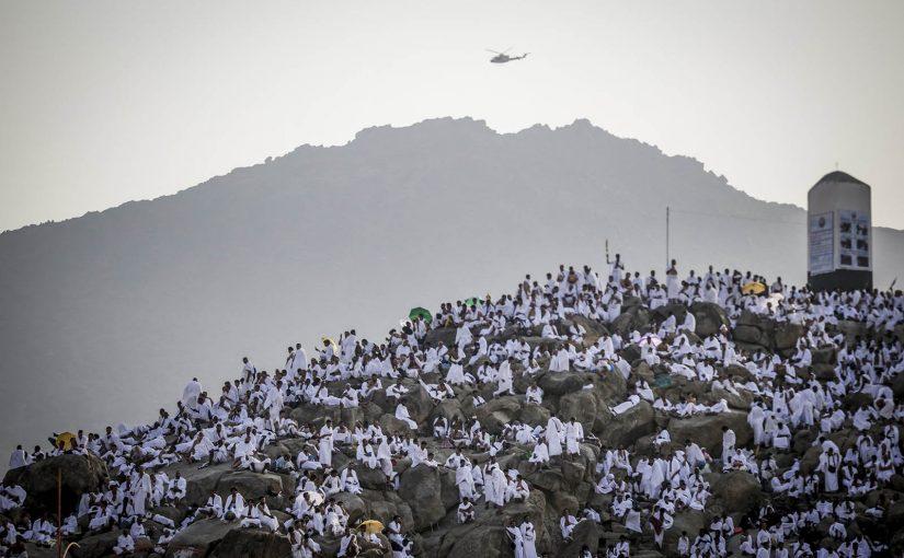 Imam al-Haddad at Arafat